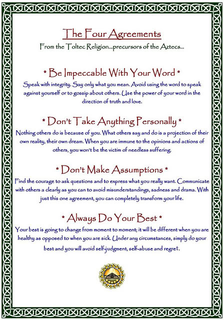 the four agreements book pdf
