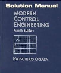 modern control engineering 5th edition solution manual